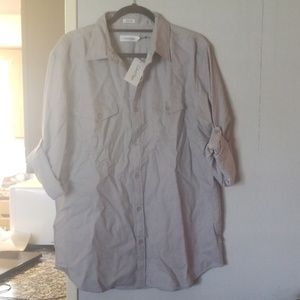 Men's gray oxford